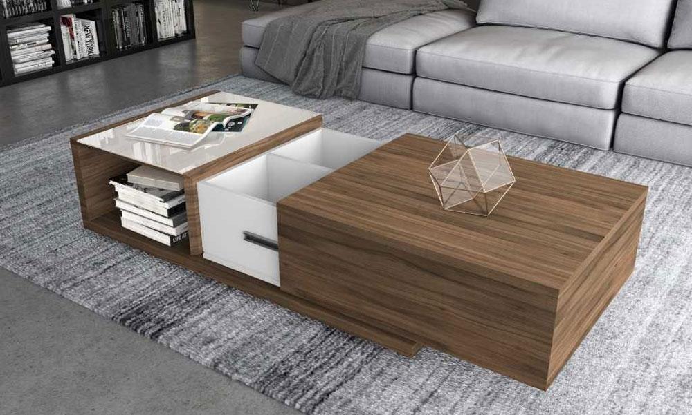 میز جلومبلی چوبی
