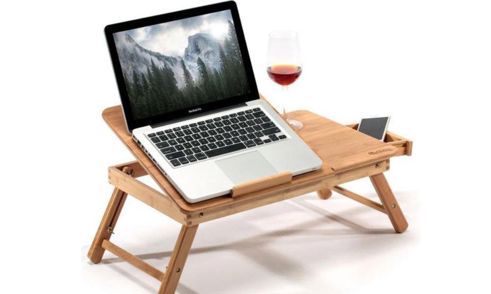 میز لپ تاپ تاشو